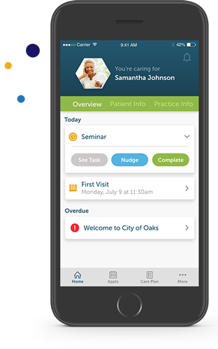 improved patient satisfaction, companion app